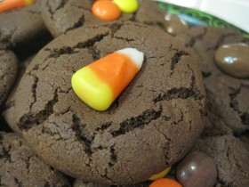 Choc Candy Corn Cookies 01