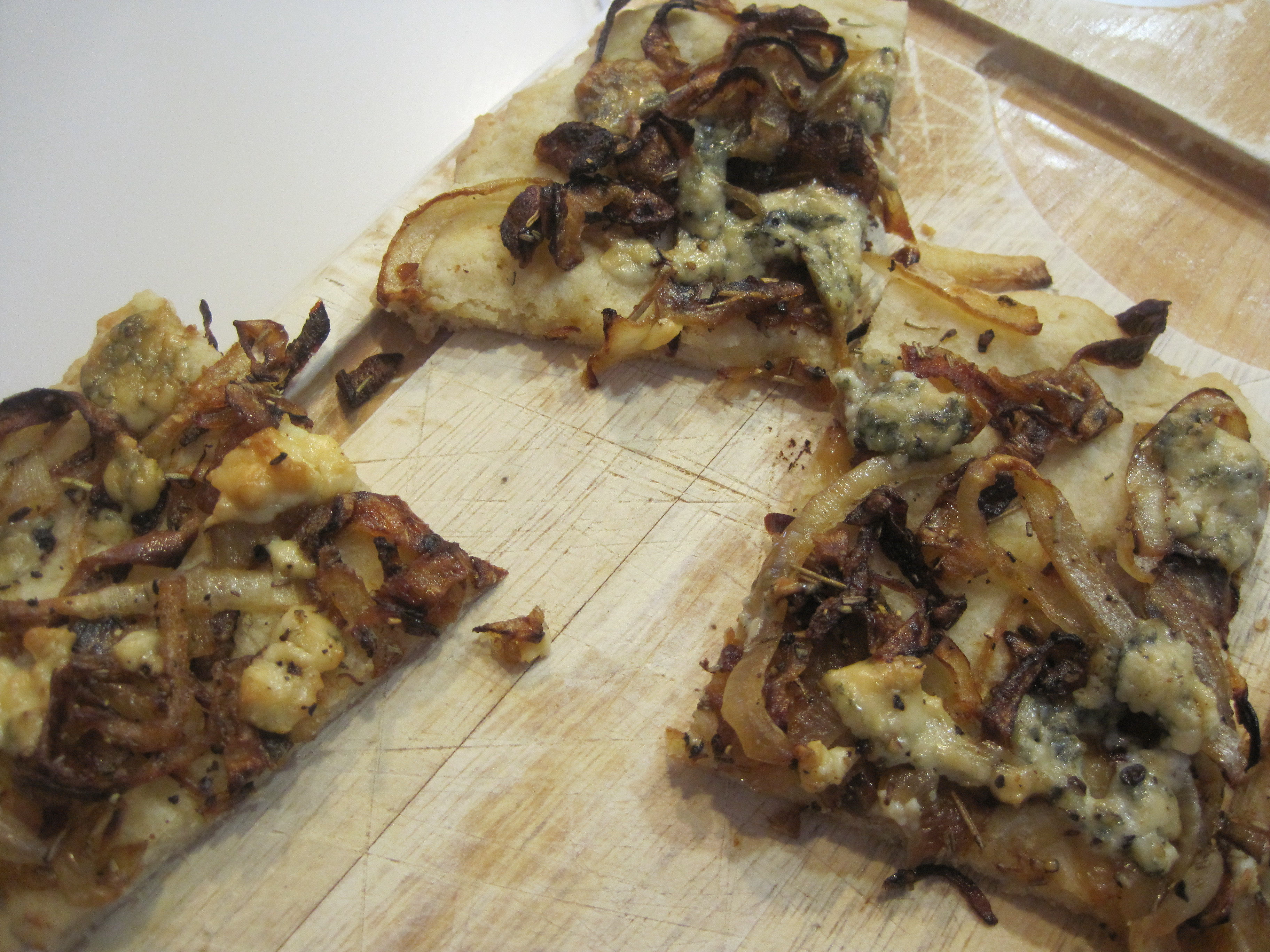 Blue Cheese And Caramelized-Onion Squares Recipes — Dishmaps